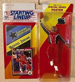 1992 starting lineup Michael Jordan warmup suit Chicago Bulls RARE COLLECTIBLE