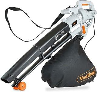 VonHaus 3 in 1 Leaf Blower - 3000W Garden Vacuum & Mulcher - 35 Litre Collection Bag, 10:1 Shredding Ratio, Automatic Mulc...