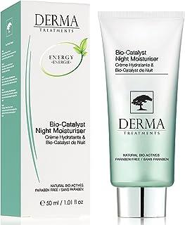 Derma Treatments Bio-Catalyst Night Moisturiser With Vitamin E & Coconut Oil - Deeply Hydrate & nourishes Skin - Made In T...