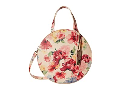 SOLE / SOCIETY Palermo Satchel (Blush Floral) Bags