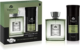 Yardley Gentleman Urbane perfumed gift set, For Vigorous and Flamboyant male, Sandalwood, Patchouli and Musk, Eau De Parfu...