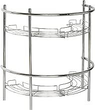 Zenna Home 2928SS, Pedestal Sink Shelves, Chrome