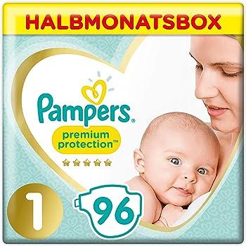 1 X  84 Stück Größe 1 Huggies Newborn Baby Windeln Für Neugeborene