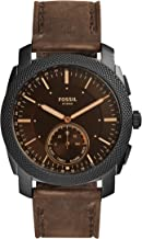 Fossil Men's Machine Stainless Steel Hybrid Smartwatch with Activity Tracking and Smartphone Notifications