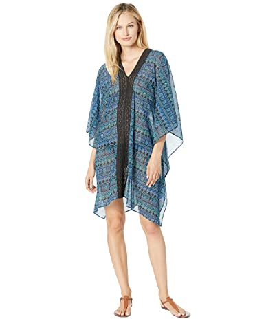 Miraclesuit Gypsy Caftan Cover-Up (Teal) Women