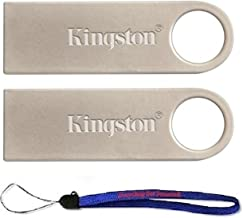 Kingston (TM) Digital DataTraveler SE9 16GB USB 2.0 (DTSE9H/16GB) 16GB (2 pack) Flash Drive Pen Drive - w/ (1) Everything But Stromboli (TM) Lanyard