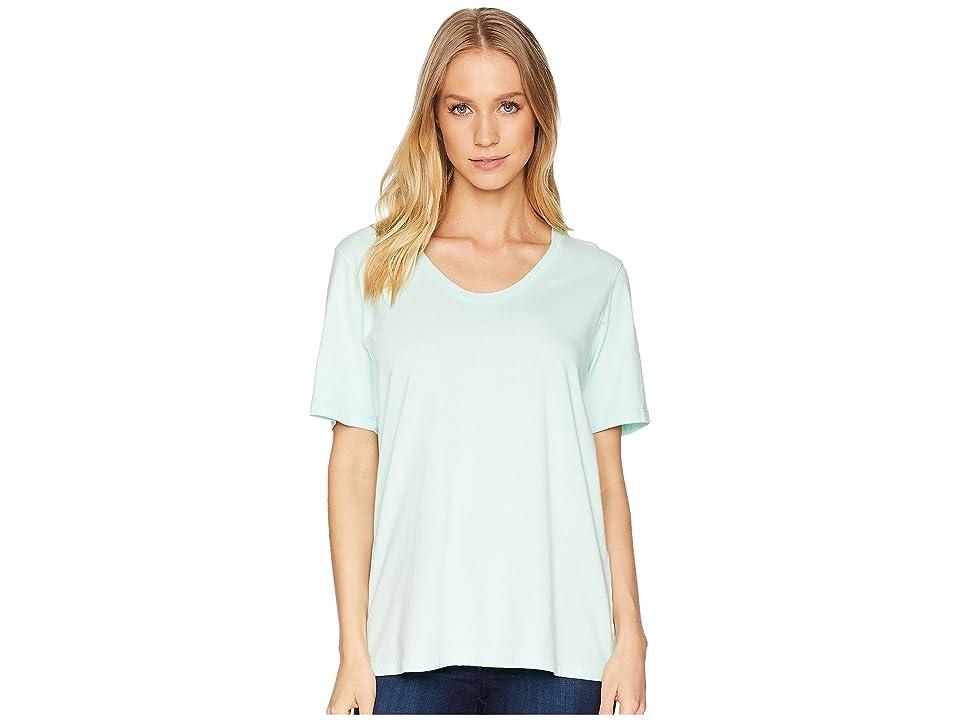 Richer Poorer Scoop V Tee (Mint) Women's T Shirt