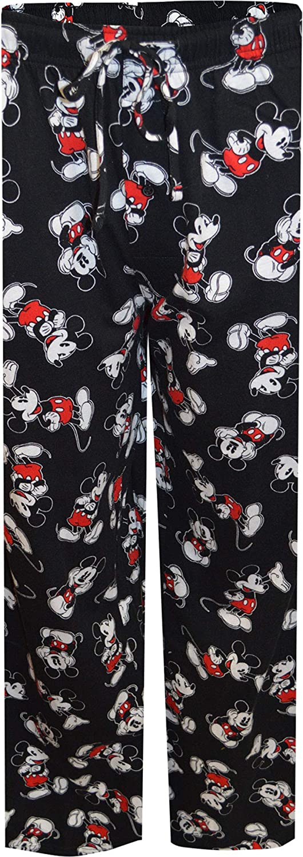 MJC Choice Men's Disney Classic Mickey Lounge Cotton Pants Mouse Cheap SALE Start Black