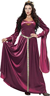California Costumes Women's Lady Guinevere Costume/Berry