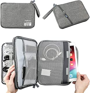 Double Layer Electronic Accessories Organizer, Travel Gadget Bag for Cables, USB Flash Drive, Plug and More, Perfect Size ...