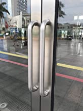 109 Modern Stainless Steel Sus304 Entrance Entry Commercial Office Store Front Timber Wood Glass Door Pull Push Handles Double-Sided 36 Inches /900x38mm AM-109-38-900-02