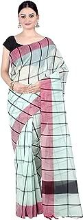 Chandrakala's Women's Cotton Blend Indian Ethnic Banarasi Saree with Unstitched Blousepiece(1310)