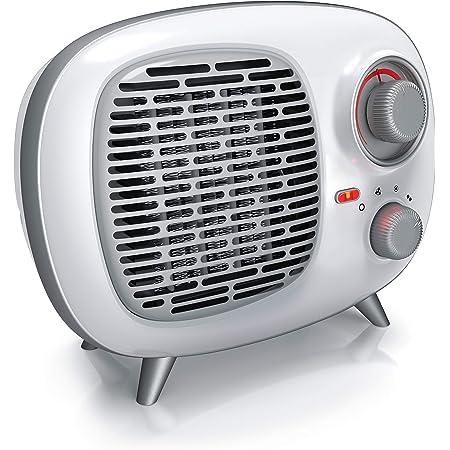 Ufesa Cf2000ip Vertikaler Heizlüfter 2000 W Ip21 Kippsicherung 2 Leistungsstufen Und Ventilationsfunktion Regelbarer Thermostat Leise