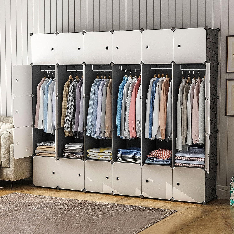 MAGINELS Portable Max 81% OFF Wardrobe Closets New item - 14