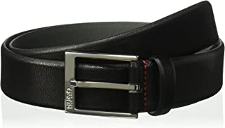 HUGO by Hugo Boss Men's Gellot Grainy Leather Belt