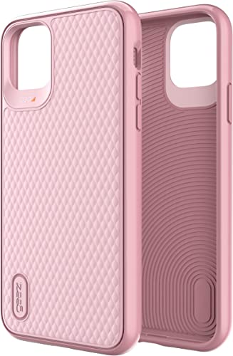2021 GEAR4 Battersea online Diamond Compatible new arrival with iPhone 11 Pro Max Case, Advanced Impact Protection with Integrated D3O Technology Phone Cover - Rose Pink online
