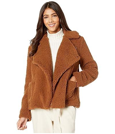 Jack by BB Dakota Soft Skills Fleece Jacket (Camel) Women