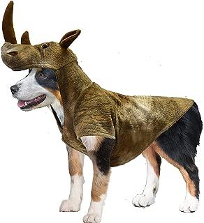 Realistic Rhinoceros Dog Halloween Costume