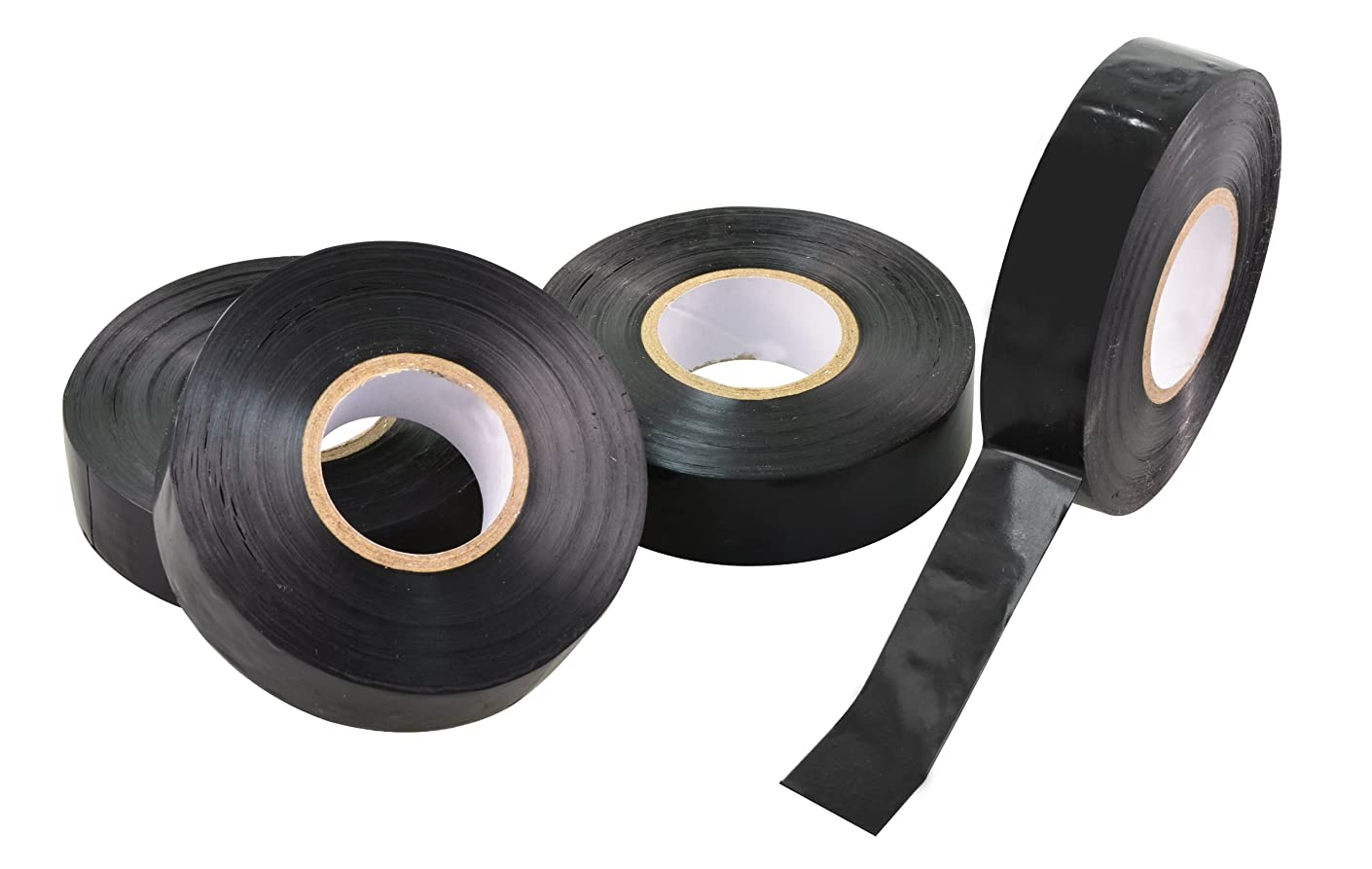 Rolson 4pc Black Insulating Tape