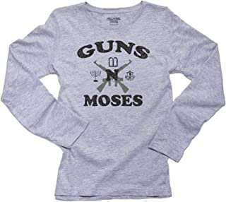Hilarious Guns n Moses Christian Pride Women's Long Sleeve T-Shirt
