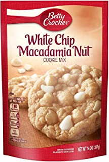 Betty Crocker Cookie Mix Pouch, White Chip Macadamia Nut, 14 Oz ( 2 pack )