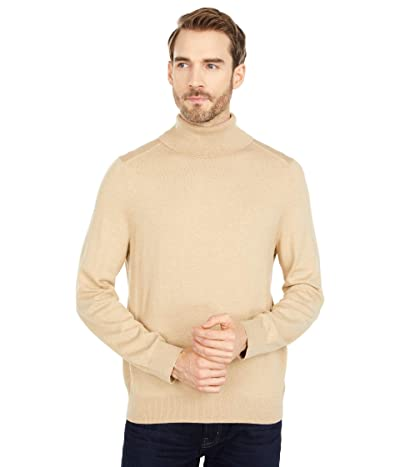 Nautica Navtech Knit Turtleneck Sweater (Sandy Bar Heather) Men