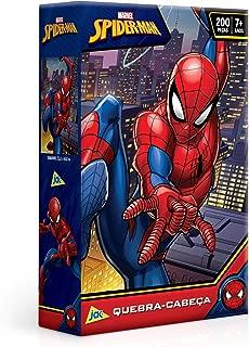 Toyster Quebra-Cabeça Cartonado Spider-Man 200 Peças