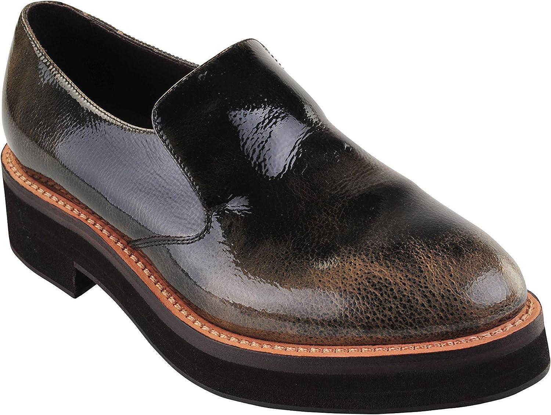 Brunello Cucinelli shoes Women's Green Beige,Light Brown,Dark Brown Leather Closed-Toe 37