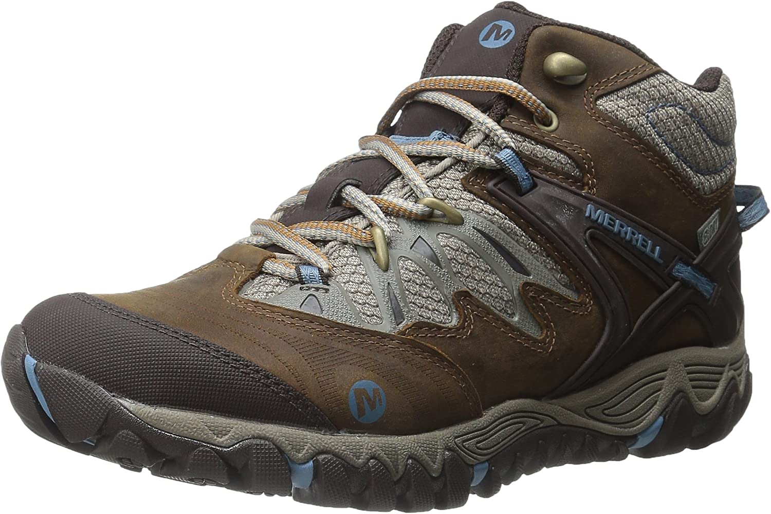 Merrell Women's All Out Blaze Mid Waterproof Hiking Boot Black