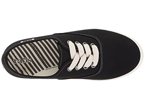 Black Canvas Taos Guest Footwear CanvasWhite Star qwzY4