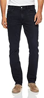 Calvin Klein Men's Slim-Straight Fit Denim Jeans
