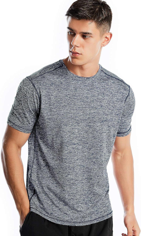 Athletic Sale SALE% OFF Shirts for Men Shirt Short Philadelphia Mall Sleeve Workout