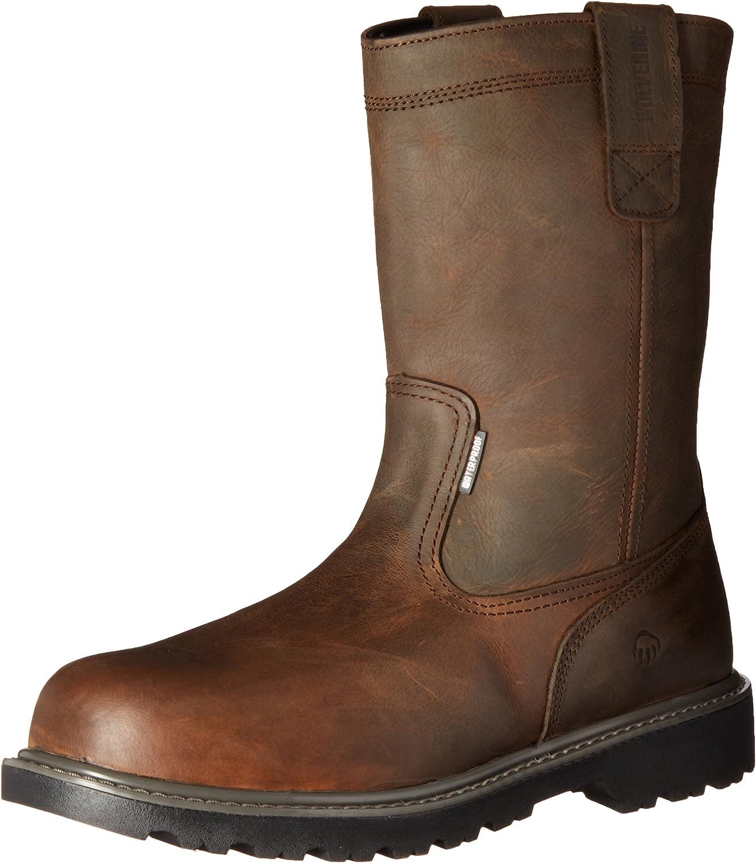 WOLVERINE Men's Floorhand Nashville-Davidson Mall Waterproof shopping 10