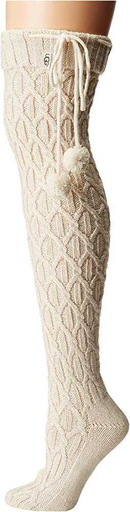 UGG - Sparkle Cable Knit Socks