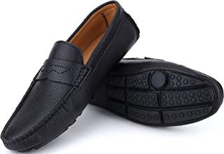 Mio Marino Mens Loafers - Italian Dress Casual Loafers for Men - Slip-on Driving