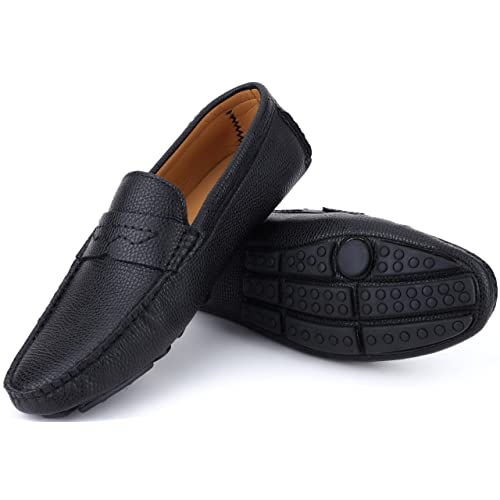 Mio Marino Mens Loafers - Italian Dress Casual Loafers for Men - Slip-on  Driving fed09d4aebc
