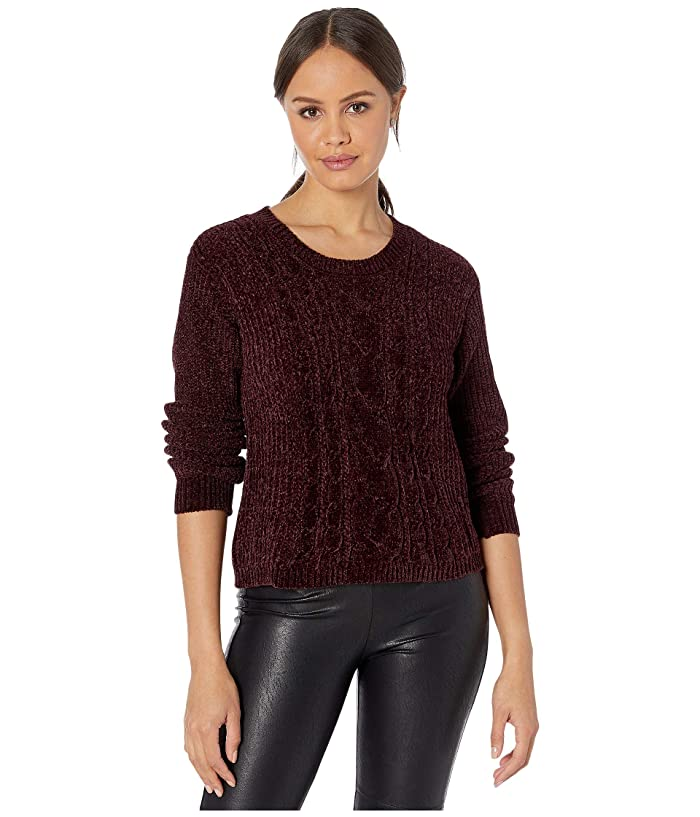 No Chill Chenille Cable Knit Sweater by Bb Dakota