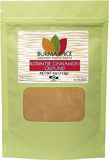 Ground Korintje Cinnamon : Powder Bark : (4 oz.)