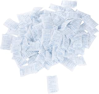 Juvale Silica Gel Packets (100 Pack) 10 Gram Desiccant, Moisture Humidity Absorbent