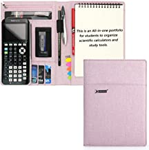 $23 » Portfolio for Texas Instruments TI-CX II, TI-84 Plus CE, TI-Nspire Cx II CAS, All-in-one Protective Organizer for Most Sci...