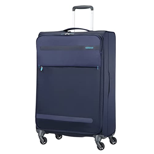 American Tourister Herolite Spinner, 74 cm, 95 L, Midnight Blue