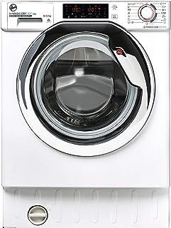 Hoover H-WASH&DRY 300 PRO HBDO485TAMCE/1-S Waschmaschine, integriert, 8 kg + 5 kg, 1400 U/min, Inverter-Motor, WLAN, Zyklen Extra Care, All in One 59, Weiß, Klasse AD