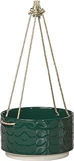 Orla Kiely | Łodyga z lat 60. | Duży ceramiczny wiszący garnek | zielony