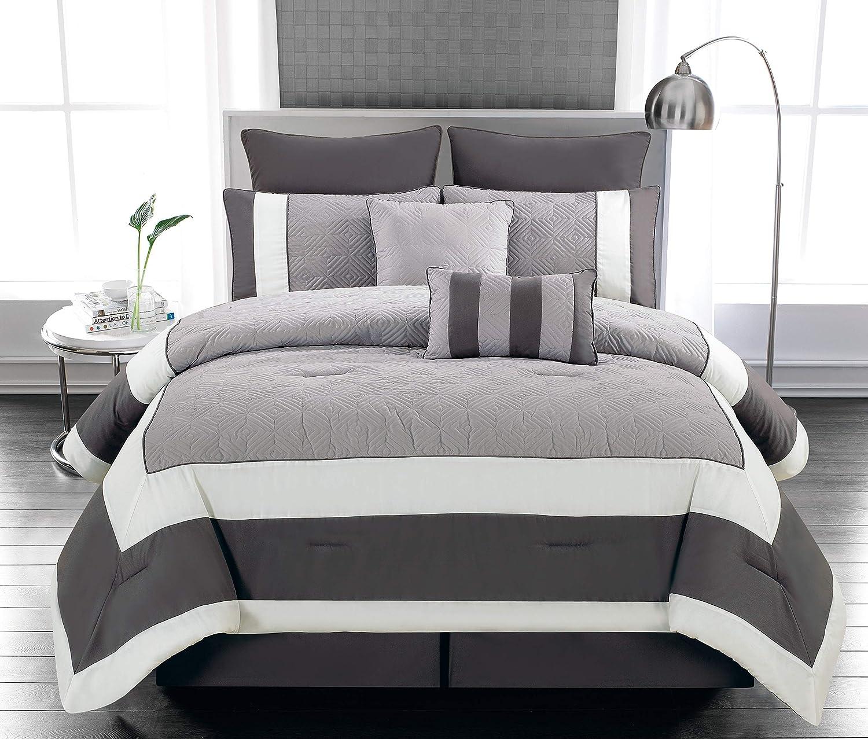 Duck Dallas Mall Max 76% OFF River Textile Spain Sandstone-Smoke Comforter Set