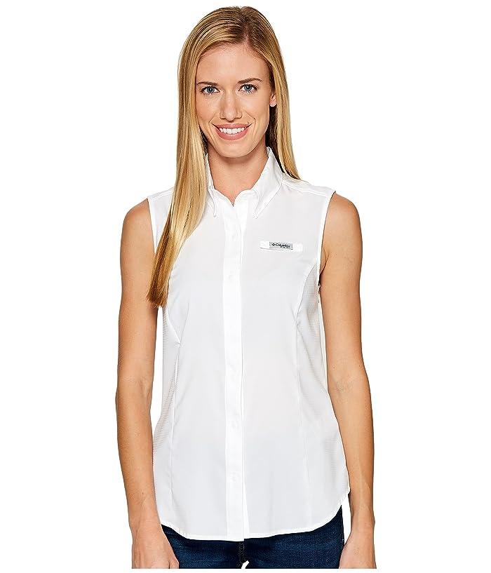 Columbia Tamiamitm Sleeveless Shirt (White) Women