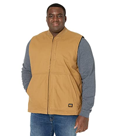 Timberland PRO Gritman Lined Canvas Vest Tall (Dark Wheat) Men