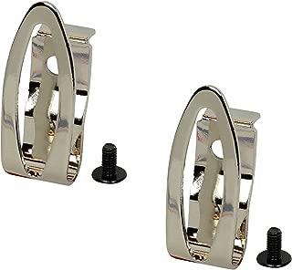(2) Hitachi Belt Hooks w/ (2) Screws #337362 for WH10DFL2 KC10DFL2 DS10DFL2