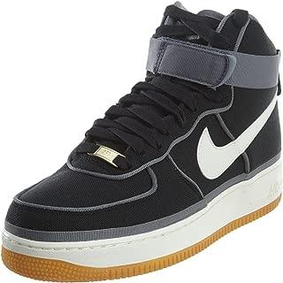 Nike Mens Air Force 1 High '07 LV8 Black/Sail Canvas