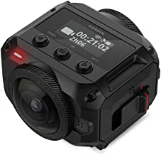 Garmin Virb 360 Action Rugged, Waterproof 360-degree Camera with 5.7K/30fps Resolution and 4K Spherical Stabilization