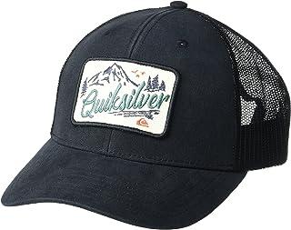 قبعة كويك سيلفر للرجال كلين ريفرز سناب باك قبعة سائق شاحنة